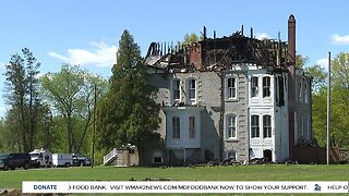 Teen girl missing following fire at historic Bel Air mansion