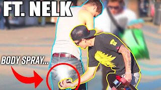 Telling People they STINK Prank Ft. NELK