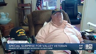 Special surprise for Valley veteran