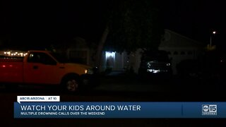 Child rushed to hospital after near-drowning in Mesa
