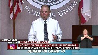 Kern County Health Department Director Matt Constantine talks about enforcing mask order