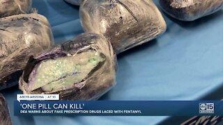 DEA warns of fake prescription drugs laced with fentanyl