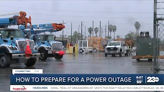 PG&E discusses how to prepare for power outages during the storm