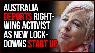 Australia DEPORTS Katie Hopkins For Saying She Won't Follow Quarantine, Lockdowns May RETURN