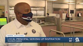 Principal serves up lunch, inspiration at Palm Beach Gardens high school