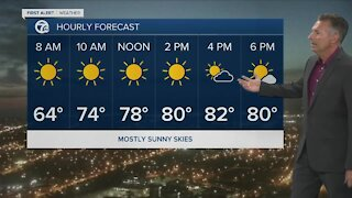 7 First Alert Forecast 5am Update, Wednesday, August 4