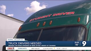 Commercial driver's license training on the rise