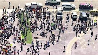 Hundreds protest Jeffco Schools mask mandate