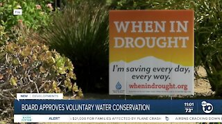 San Diego Water Authority vote to activate voluntary water conservation
