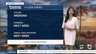 ABC 10News Pinpoint Weather for Sat. Sept. 18, 2021