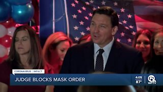 Florida judge strikes down DeSantis' ban on mask mandates, says school districts can require facial coverings