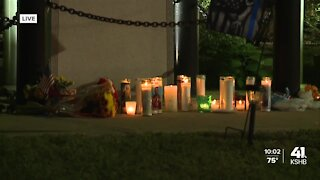 Candlelight vigil honors life of fallen Independence officer