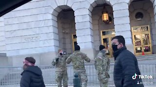 Military Troops Have Lockdown the US Capitol
