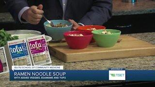 Shape Your Future Healthy Kitchen: Ramen Noodle Soup
