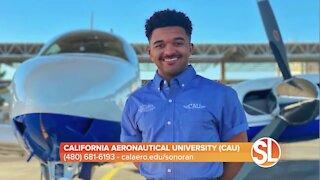 California Aeronautical University (CAU) welcomes special military tribute aircraft on its fleet