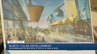 Groundbreaking ceremony for new hotel in North Tulsa