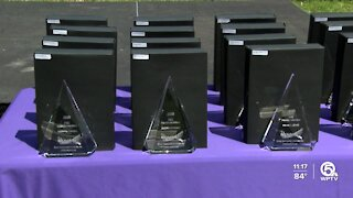 Healthcare workers honored in Lake Worth Beach