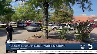 1 dead, 14 injured in Tennessee grocery store shooting