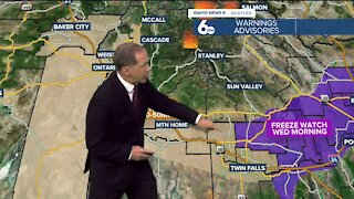 Scott Dorval's Idaho News 6 Forecast - Monday 9/27/21
