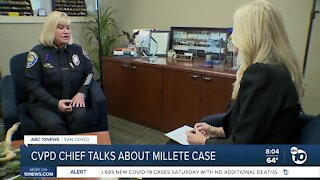 Chula Vista Police Chief interview on Millete