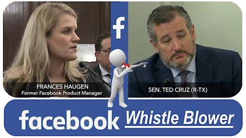 Facebook Whistle-Blower: Insurrection, Disinformation, Censorship * 10/05/2021