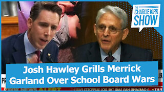 Josh Hawley Grills Merrick Garland Over School Board Wars