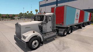 American Truck Simulator 2019 #6 Gameplay Articulated Trailer