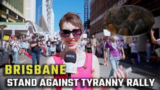 Brisbane rallies against the 'health tyranny'