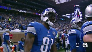 Calvin Johnson reflects on Hall of Fame career, relationship with Lions in interview with WXYZ's Brad Galli