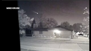Mysterious fireball caught on video streaking across skies overnight in metro Detroit