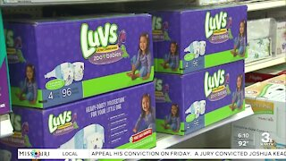 Local organizations dealing with large demand for diapers