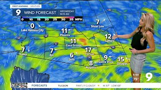 A gusty and warm start to Fall