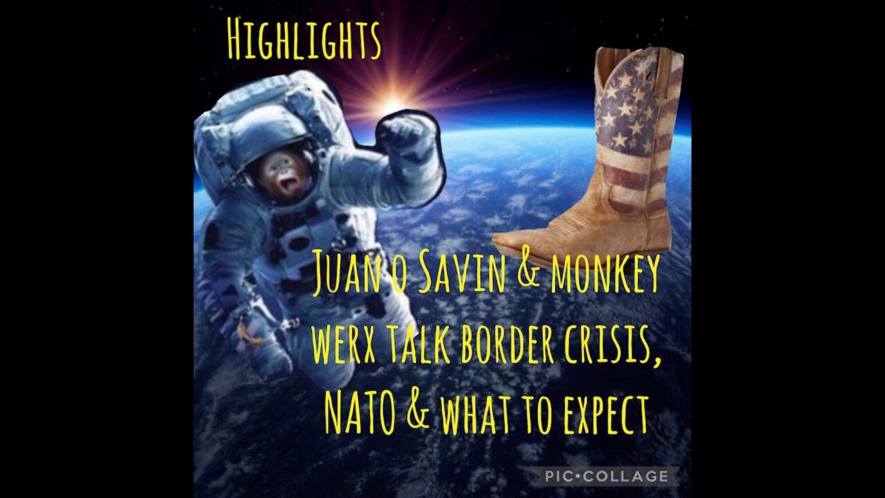 Juan O Savin & Monkey Werx Highlights! - We The People News Must Video