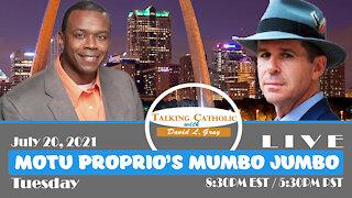 Motu Proprio's Mumbo Jumbo with Patrick Coffin