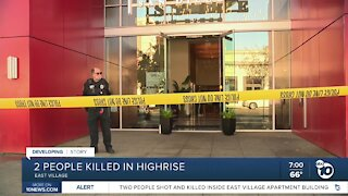 Two people killed in East Village high rise