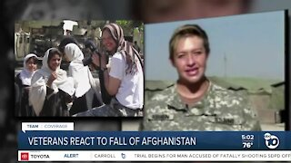 San Diego Vets react to fall of Kabul
