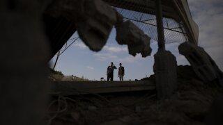 Israel Strikes Hamas Targets In Gaza As Militants Fire Rockets