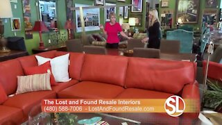 The Lost and Found Resale Interiors offers high quality resale shopping without the high price tag