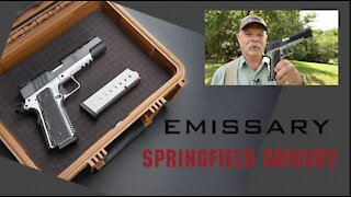 A Review of Springfield Armory's 1911 Emissary For EDC/Home Defense & More!