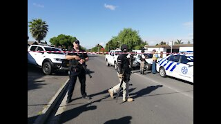 Heavy police and Private security presence in Brackenfell High