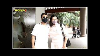 Gauahar Khan & Zaid Darbar Snapped At The Airport