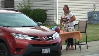 Parma resident's third annual drive through-driveway fundraiser bigger and better than ever