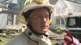 Cleveland firefighters give update on house explosion