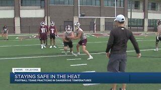 WATCH: Jenks Trojans hold first practice of high school football season