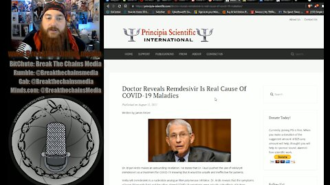 Dr. Ardis Blows The Whistle On Remdesivir! Dr. Fauci is Knowingly Murdering Millions