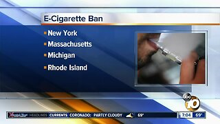 San Diego County Leaders announce plan to crack down on vaping products