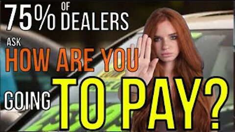 CAR SALESMAN: HOW ARE YOU GOING TO PAY? WE NEED A CREDIT APP! (DATA PRIVACY RIGHTS) THG Kevin Hunter