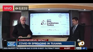 COVID-19 cases on the rise in Tijuana