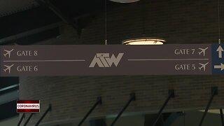 Appleton Airport sees 95% drop in passengers