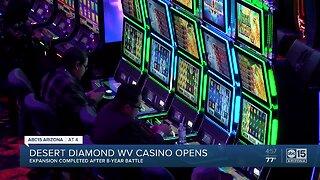 New Desert Diamond West Valley Casino opens near Glendale